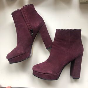 marc fisher size 8.5 booties